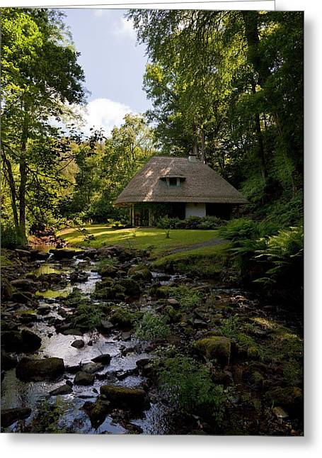 Thatch Greeting Cards - The Cottage Ornee Teahouse, Kilfane Greeting Card by Panoramic Images