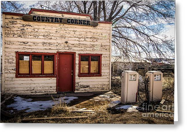 The Country Corner Greeting Card by Bob and Nancy Kendrick