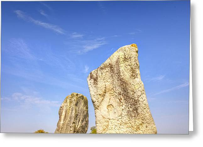 The Cove Avebury Wiltshire Greeting Card by Colin and Linda McKie