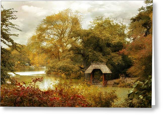 Wagner Greeting Cards - The Cove Greeting Card by Jessica Jenney