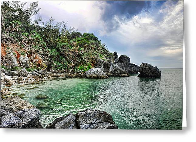 Recently Sold -  - China Cove Greeting Cards - The Cove Greeting Card by Ryan Wyckoff