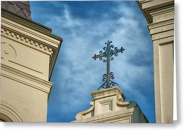 Brenda Bryant Photography Greeting Cards - The Cross Greeting Card by Brenda Bryant