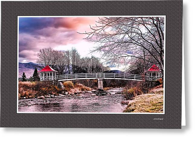 Decour Greeting Cards - The Crossing II Brenton Woods NH Greeting Card by Tom Prendergast