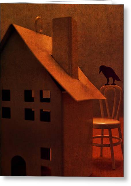 Jeff Greeting Cards - The Crows House Greeting Card by Jeff  Gettis
