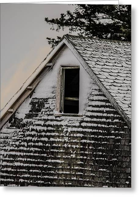 Old Maine Barns Greeting Cards - The Crows Nest Greeting Card by Susan Capuano