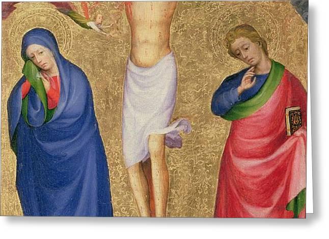 The Crucifixion Greeting Card by Dutch School