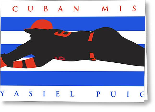 The Cuban Missile Greeting Card by Ron Regalado