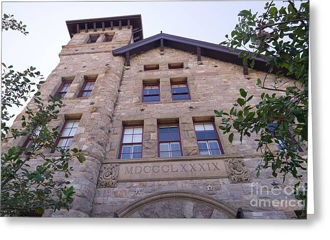 St Helena Greeting Cards - The Culinary Institute of America Greystone St Helena Napa California DSC1698 Greeting Card by Wingsdomain Art and Photography