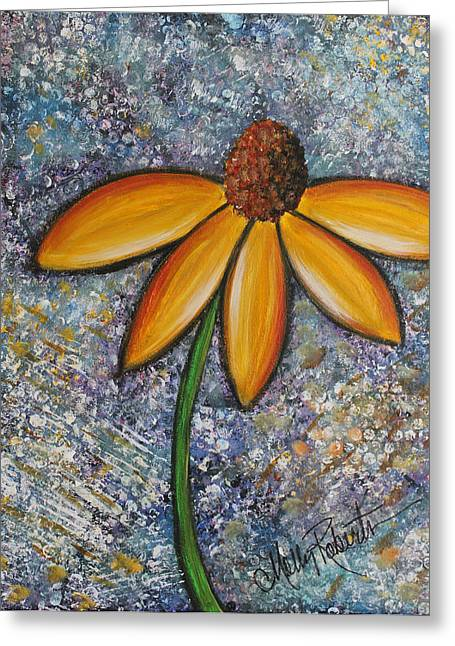 Daisy Bud Greeting Cards - The Daisy Greeting Card by Molly Roberts