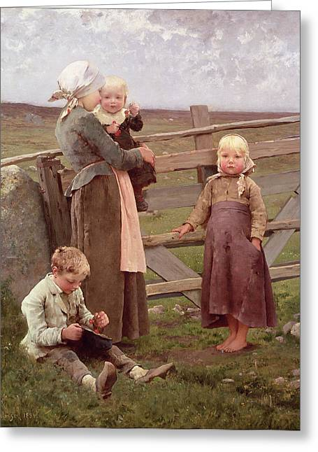 Scandinavia Greeting Cards - The Dalby Gate Greeting Card by Hugo Salmson