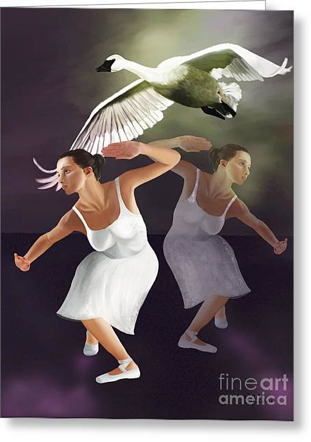 Effectiveness Greeting Cards - The Dance Begins Greeting Card by Sydne Archambault