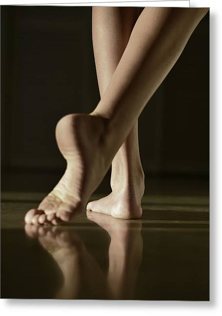 Dancer Photographs Greeting Cards - The Dance Greeting Card by Laura  Fasulo