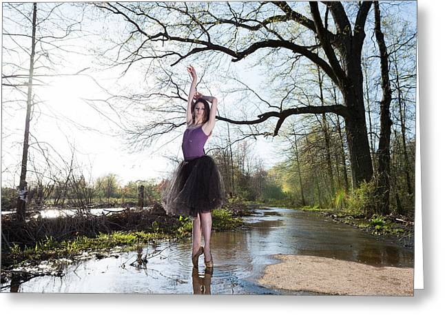 Ballet Dancers Photographs Greeting Cards - The dance Greeting Card by Ryan Crane