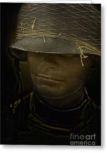 Netting Greeting Cards - The Darkness of War Greeting Card by Margie Hurwich