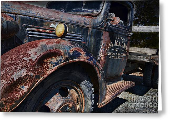 The Darlins Truck Greeting Card by David Arment