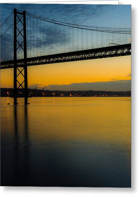 American Bridge Company Greeting Cards - The Dawn of Day II Greeting Card by Marco Oliveira