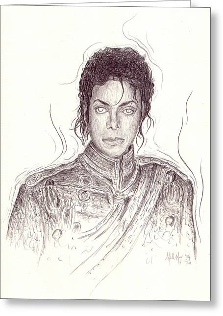 Recently Sold -  - Mj Drawings Greeting Cards - The Day After Greeting Card by Michael Morgan