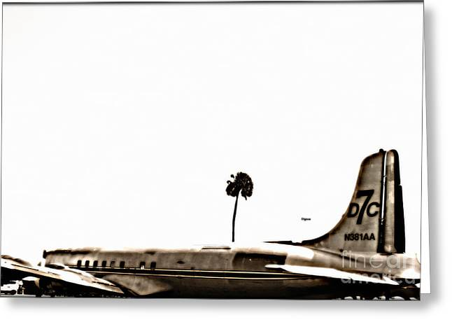 Dc7 Greeting Cards - The DC7 Greeting Card by Steven  Digman