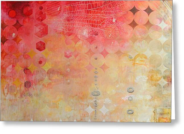 Award Winning Art Greeting Cards - The Decay Of Starlight Greeting Card by Sandra Cohen