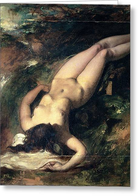 Floods Greeting Cards - The Deluge Greeting Card by William Etty