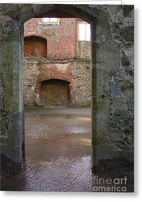The Derelict Titchfield Abbey Hampshire Greeting Card by Terri Waters