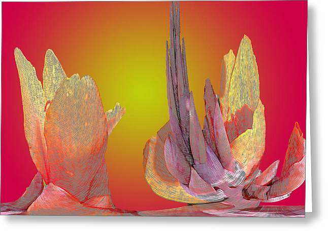 Larry Bishop Photography Greeting Cards - The Desert Blooms Greeting Card by Larry Bishop