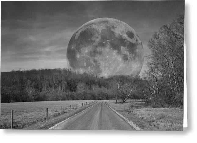 Super Moon Greeting Cards - The Doctors Light Four of Four Greeting Card by Betsy C  Knapp