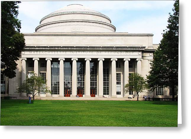 Mit Greeting Cards - The Dome at MIT Greeting Card by Nomad Art And  Design