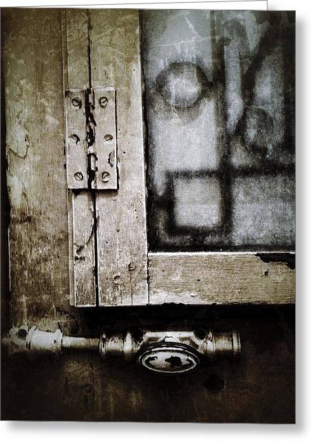 French Doors Digital Art Greeting Cards - The Door of Belcourt Greeting Card by Natasha Marco
