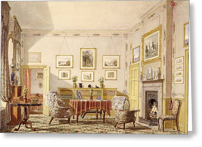 The Drawing Room, The Close Greeting Card by