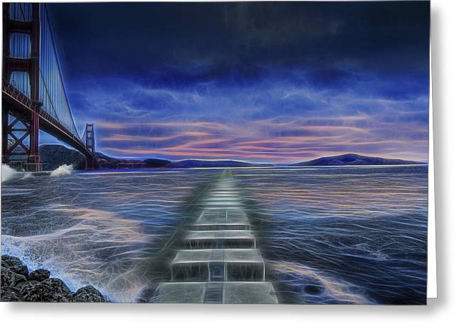 Sausalito Greeting Cards - The Dream Greeting Card by Jay Hooker