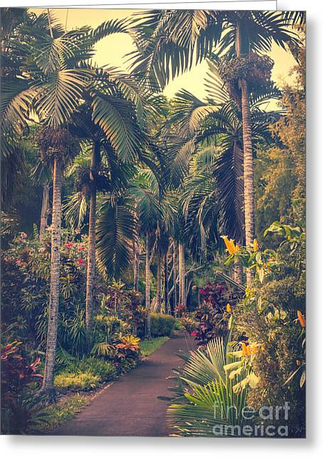 Bromeliad Greeting Cards - The Dreaming Greeting Card by Sharon Mau