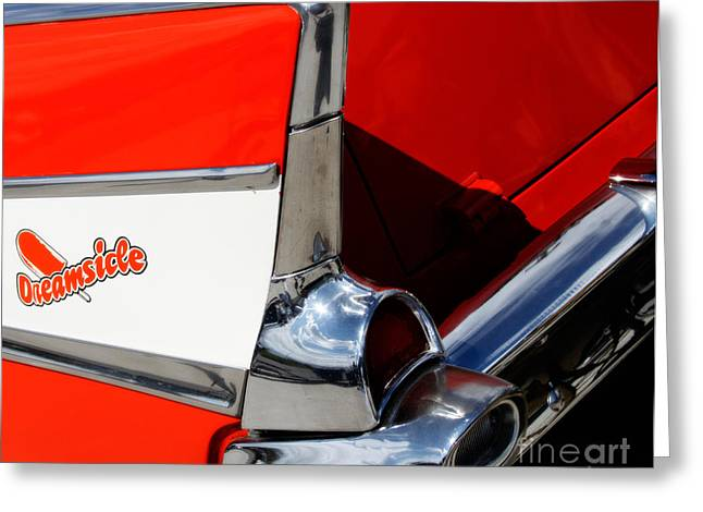 Station Wagon Greeting Cards - The Dreamsicle 1957 Greeting Card by Steven  Digman