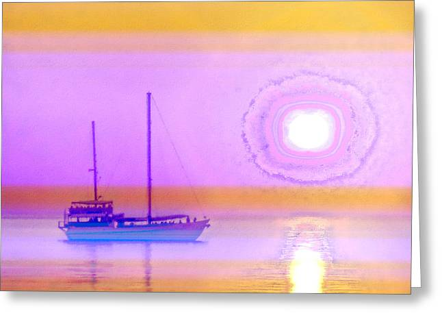 The Drifters Dream Greeting Card by Holly Kempe