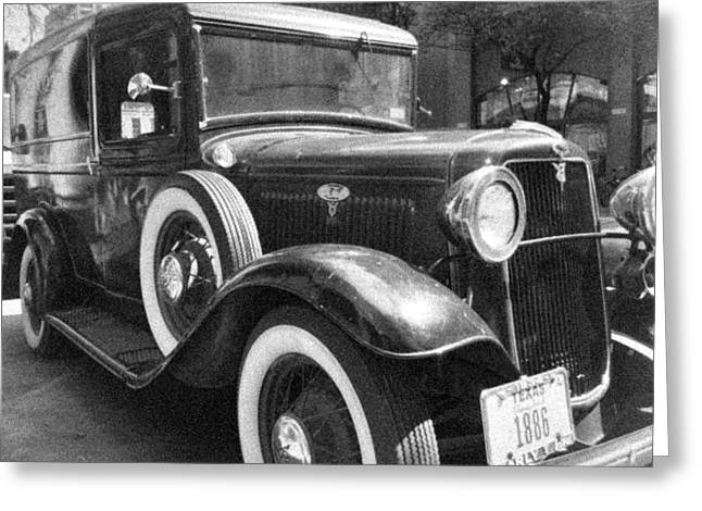 The Driskill Ford Greeting Card by Tim Stanley