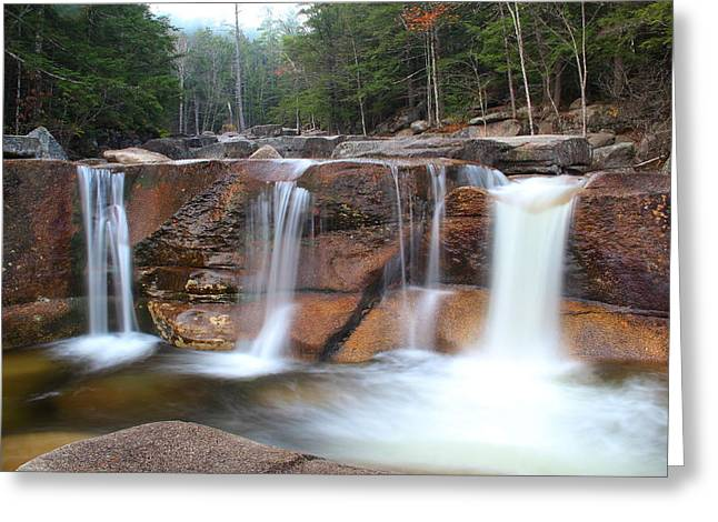 North Conway Greeting Cards - The Drop Greeting Card by Andrea Galiffi
