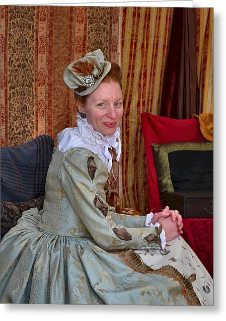 Julie Dant Photographs Greeting Cards - The Duchess Greeting Card by Julie Dant
