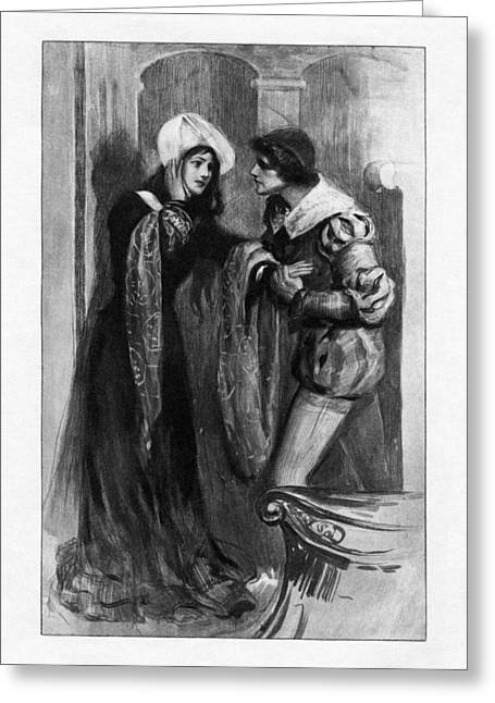 Oscar Wilde Paintings Greeting Cards - The Duchess of Padua Greeting Card by Celestial Images
