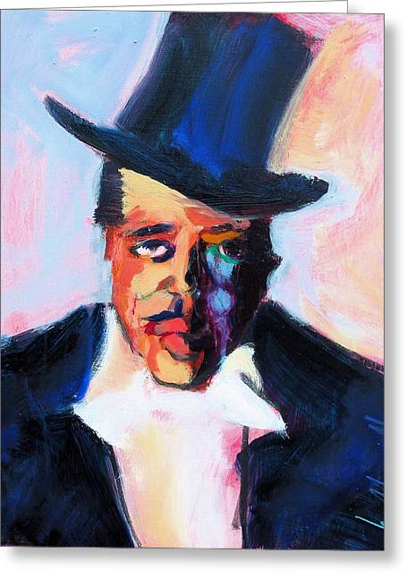 Jazz Pianist Greeting Cards - The Duke Greeting Card by Les Leffingwell