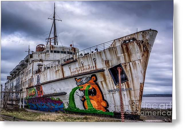 Adrian Evans Greeting Cards - The Duke of Lancaster Greeting Card by Adrian Evans