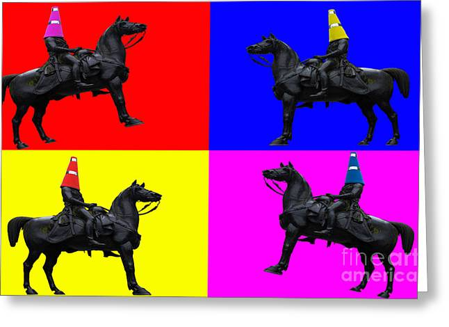 Colourful Art Greeting Cards - The Duke of Wellington Greeting Card by John Farnan