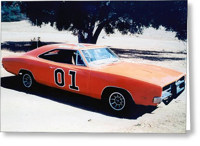 Duke Greeting Cards - The Dukes of Hazzard  Greeting Card by Silver Screen