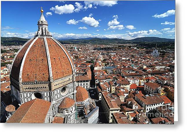 Duomo Greeting Cards - The Duomo Florence Greeting Card by Jeff Lewis