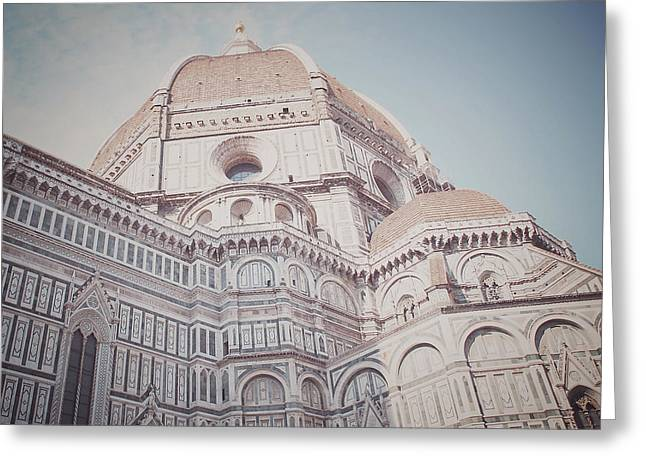 Travel Photographs Greeting Cards - The Duomo Greeting Card by Nastasia Cook