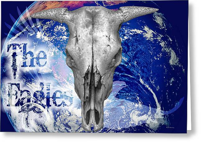 Listening Digital Art Greeting Cards - The Eagles Greeting Card by Robert Orinski