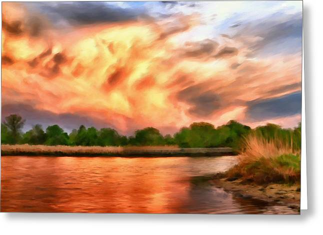 Eastern Shore Greeting Cards - The Eastern Shore Greeting Card by Michael Pickett