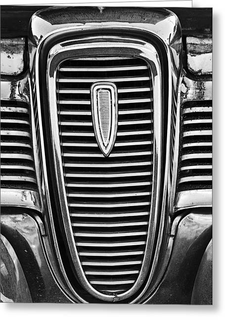 The Edsel Grill Greeting Card by Paul Mashburn