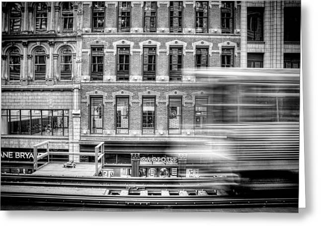 Blur Photography Greeting Cards - The Elevated Greeting Card by Scott Norris