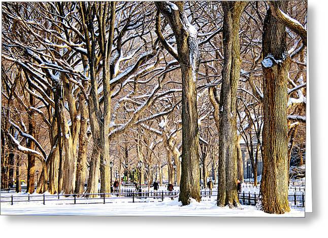 Babylon Greeting Cards - The Elms Greeting Card by Vicki Jauron