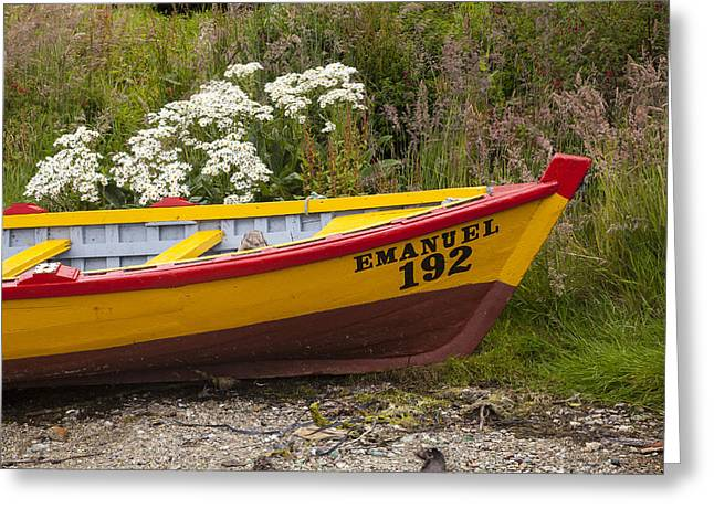 Row Boat Greeting Cards - The Emanuel Greeting Card by Tim Grams